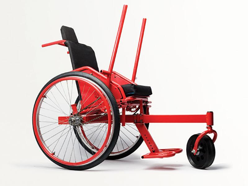 Amos Winter: The cheap all-terrain wheelchair | Talk Video ...
